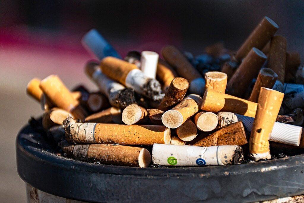 cigarettes, ashtray, smoking